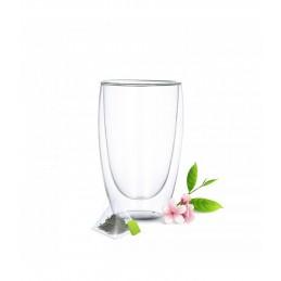 Stiklinių su dvigubomis sienelėmis rinkinys (2vnt.) 450ml. L19010