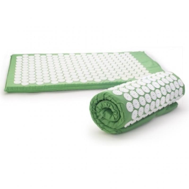 Žalias akupresūros masažinis kilimėlis Cosmolino