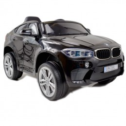Originalus juodas elektromobilis BMW X6M 2199 su nuotolinio valdymo pultu (WDJJ2199)