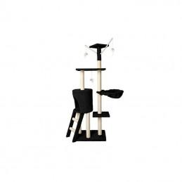 Draskyklė katėms 138 cm. Juoda (UA-01 Black)