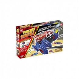 Žaislinė lenktynių trasa su galinga mašinėle Stunt rolling