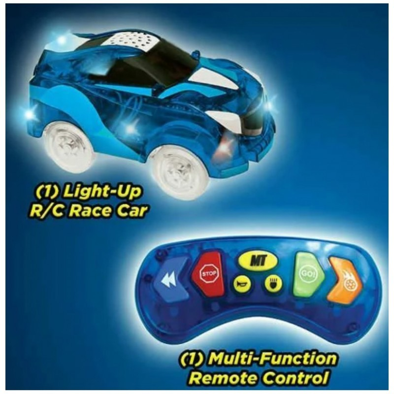 Magic Track lenktynių modeliukas su nuotoliniu valdymo pulteliu