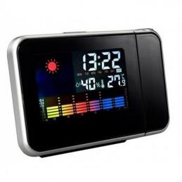 Projekcinis laikrodis su LCD ekranu ir oro s? lygų matavimu.