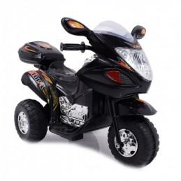 Naujausias vaikiškas juodas motociklas su akumuliatoriumi HL-238 (WDHL-238)