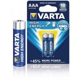 Elementas VARTA ALKALINE LONGLIFE POWER (High Energy) LR03 AAA 2vnt.