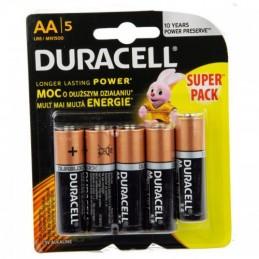 Elementas DURACELL DURALOCK BASIC LR6 AA 5vnt.
