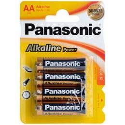 Elementas PANASONIC ALKALINE POWER (Bronze) LR6 AA 4vnt.