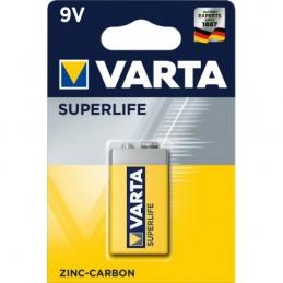 Elementas, krona VARTA SUPERLIFE 6F22 9V