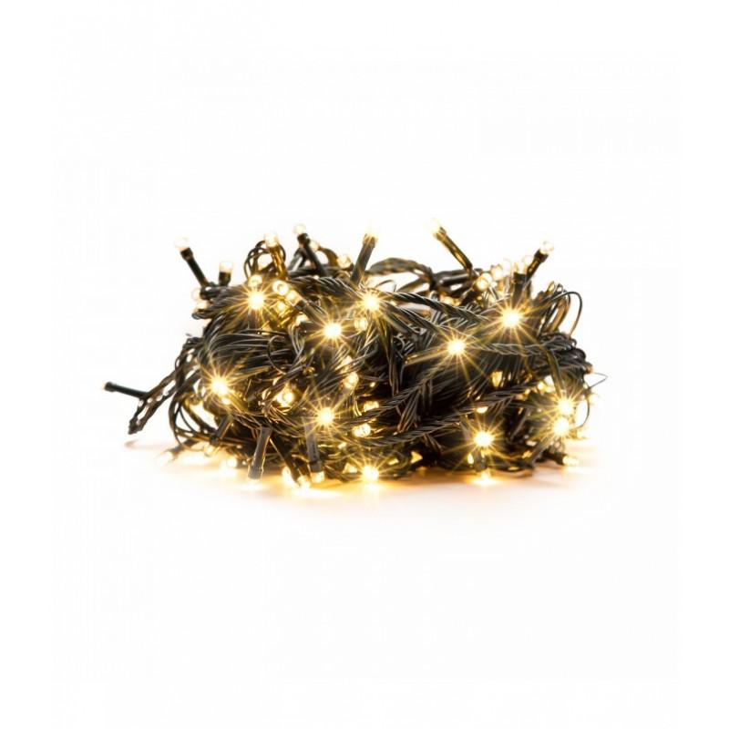 100 LED Kalėdinė lempučių girlianda 9,5 m., šilta šviesa