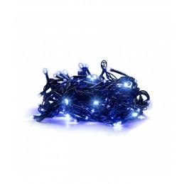 100 LED Kalėdinė lempučių girlianda 9,5 m., mėlyna šviesa