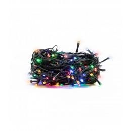 100 LED Kalėdinė lempučių girlianda 9,5 m., ivairiaspalvė