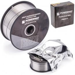 Suvirinimo viela savisaugė 0,8mm. 1kg. FLUX-0,8-1KG